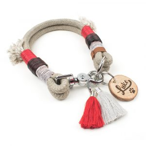 Halsband aus Tauwerk individuell