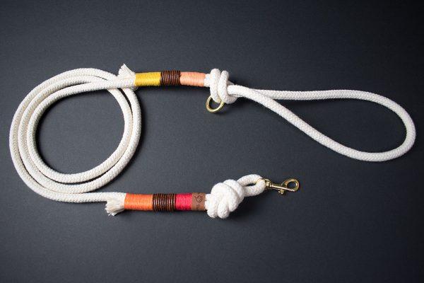 Tauwerk Hundeleine und Halsband