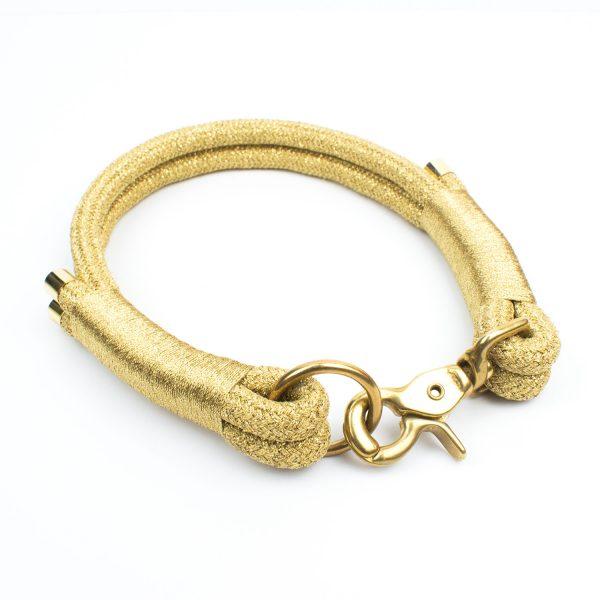 Goldenes Luxus Halsband