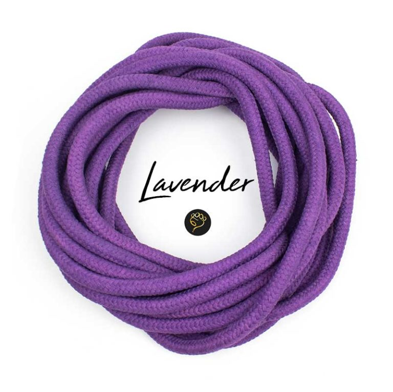 Tau Seil Farbe Lavendel
